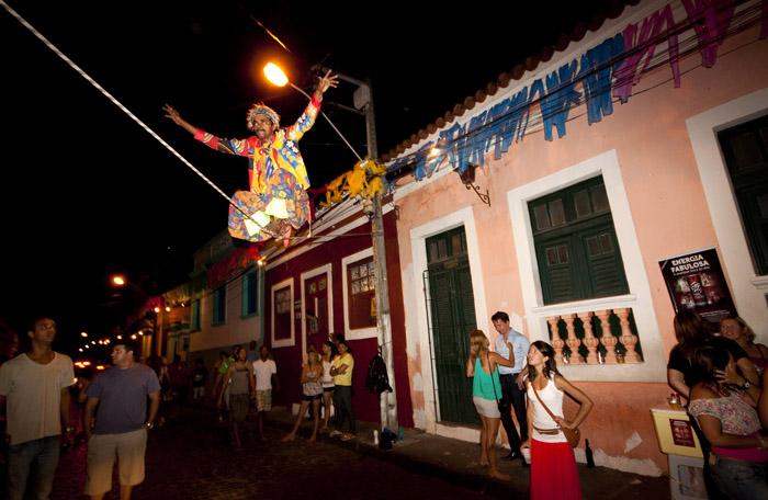 Acrobata in Olinda