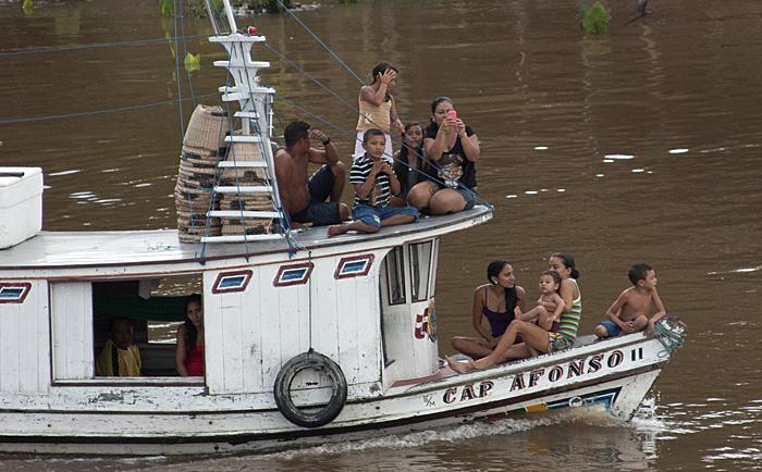 Barca, Rio Amazzoni