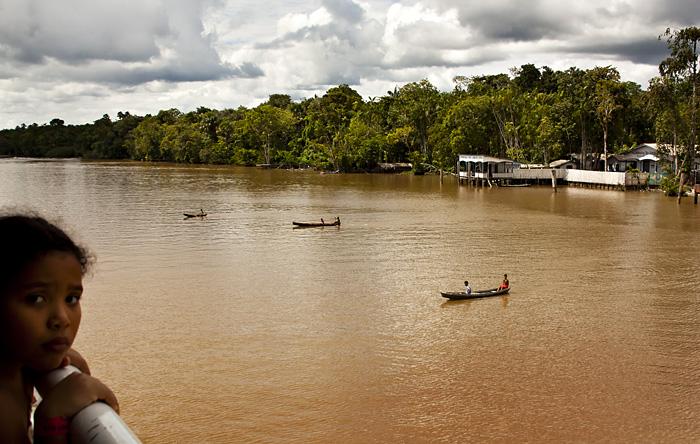 Canoe sul rio