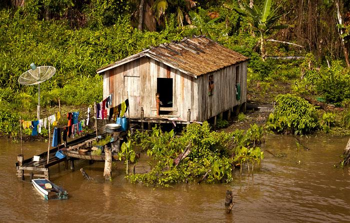Capanna, Amazzonia