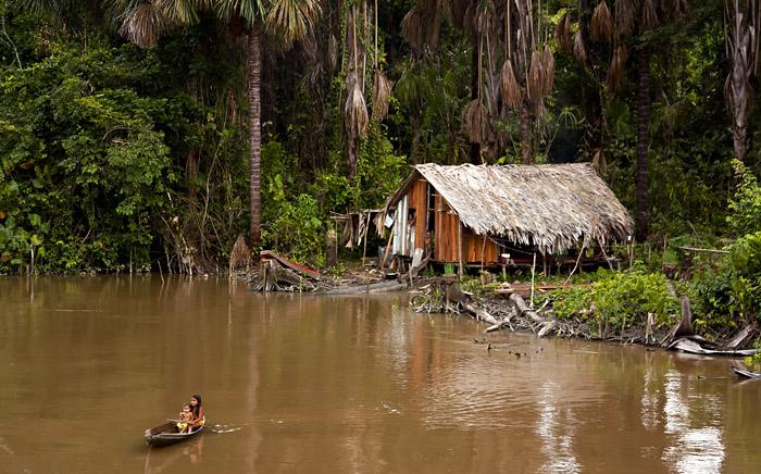 Capanna, Rio delle Amazzoni