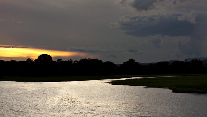 Crepuscolo, Amazzonia