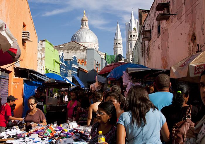 Recife's street market
