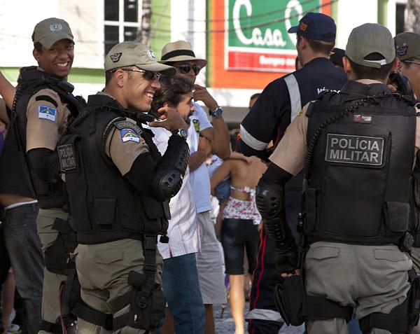 Recife police