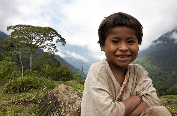 Bimbo indigeno Tayrona, Colombia