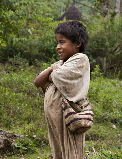 Bambino Tayrona, Colombia
