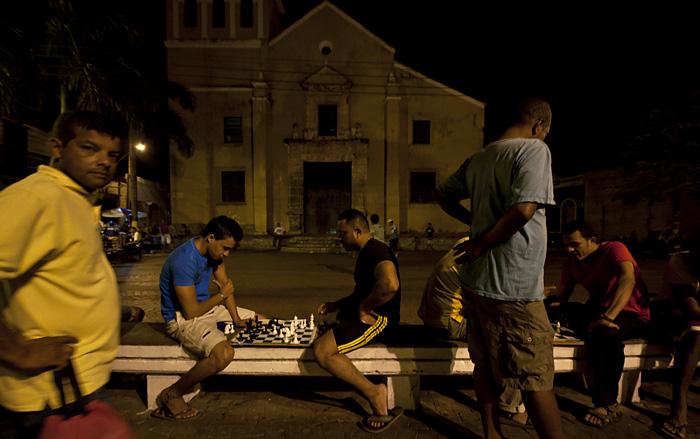 Giocatori scacchi, Cartagena