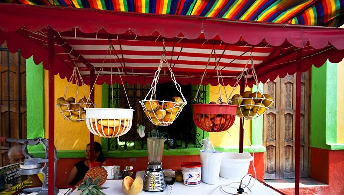 Frutta, Santa Marta