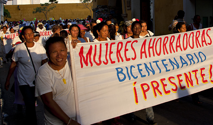 Manifestazione donne, Cartagena