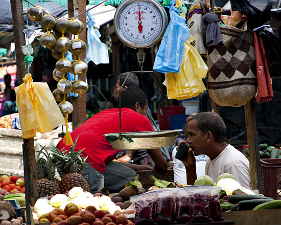 Market, Santa Marta, Colombia