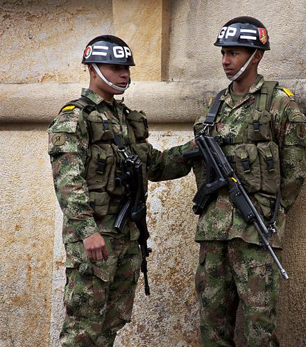Soldiers, Bogotà