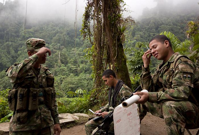 Militari, Colombia