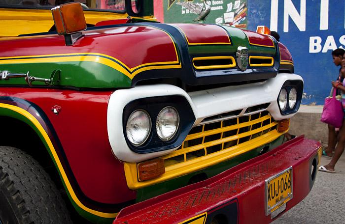 Muso auto, Colombia