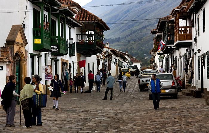 Strada Villa de Leyla, Colombia