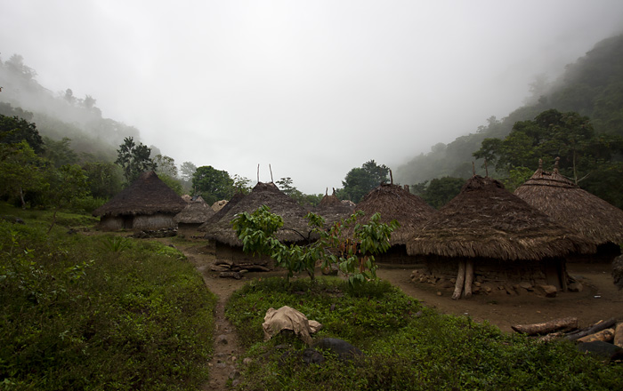 Villaggio indigeno, Colombia