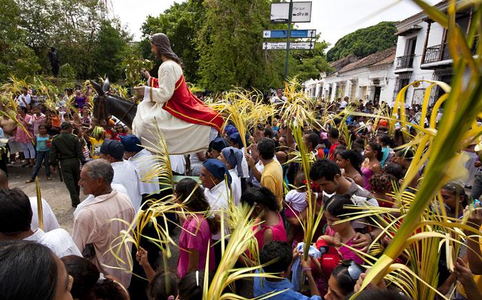 Processione a Mompos, Colombia