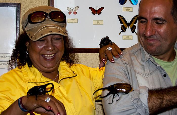 Io con scarafaggioni