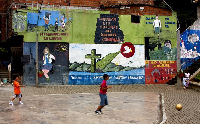 Murales, Medellin