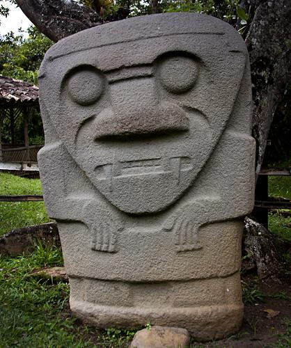 Statua, San Agustin, Colombia