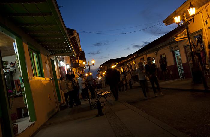 Strada Salento, Colombia