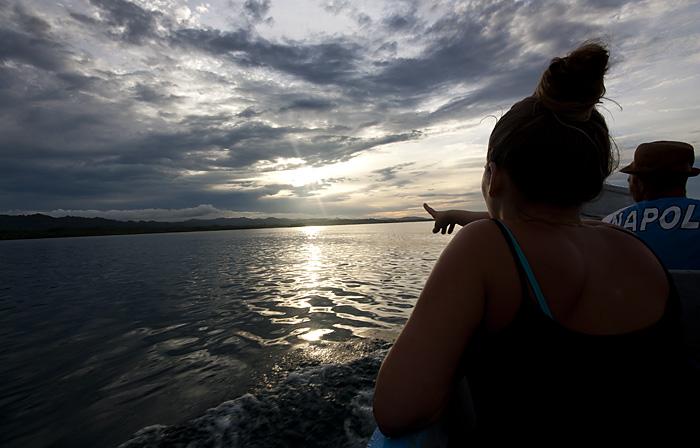 Al tramonto, San Blas