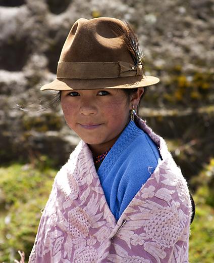 Bambina, Ecuador