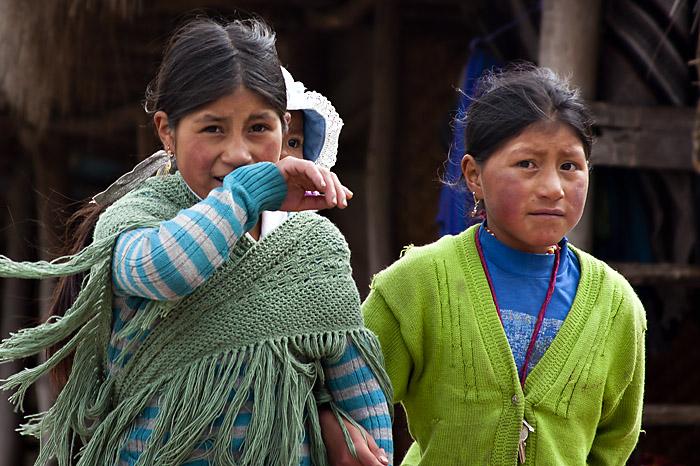 Bambine, Ecuador
