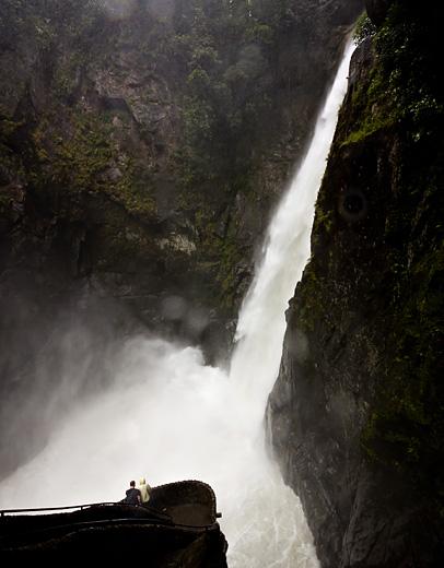 La cascata del Diablo, Ecuador