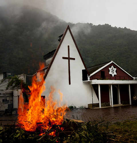 Chiesa strana, Ecuador