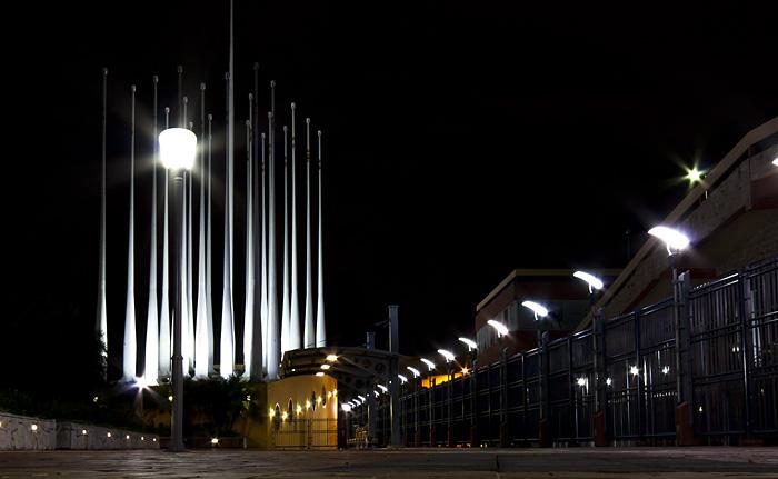 Guayaquil by night, Ecuador