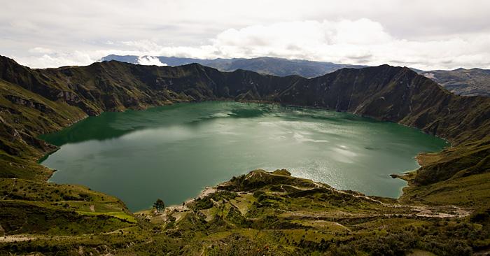 Lago Quilotoa, Ecuador