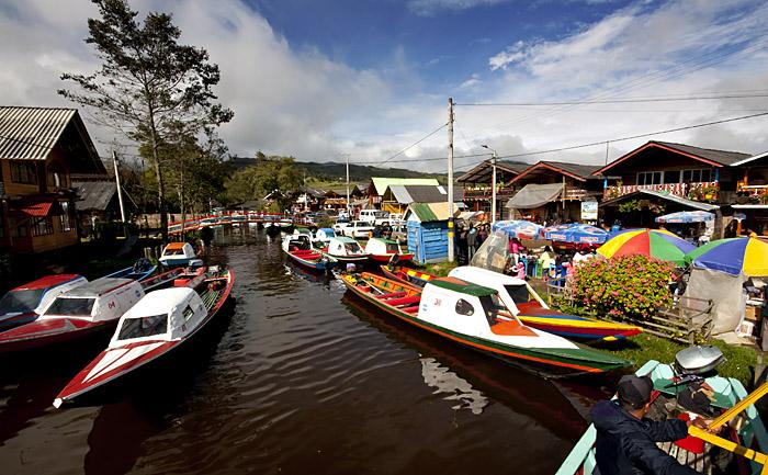 Lago Cocha, Pasto, Colombia