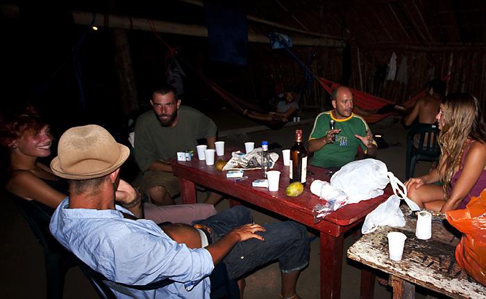 Nella capanna a Caledonia, Panama
