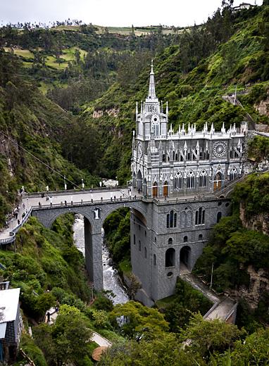 Santuario a Ipiales, Colombia