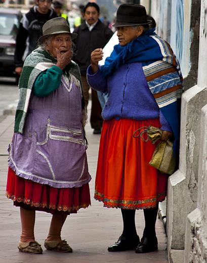 Signore a Cuenca, Ecuador
