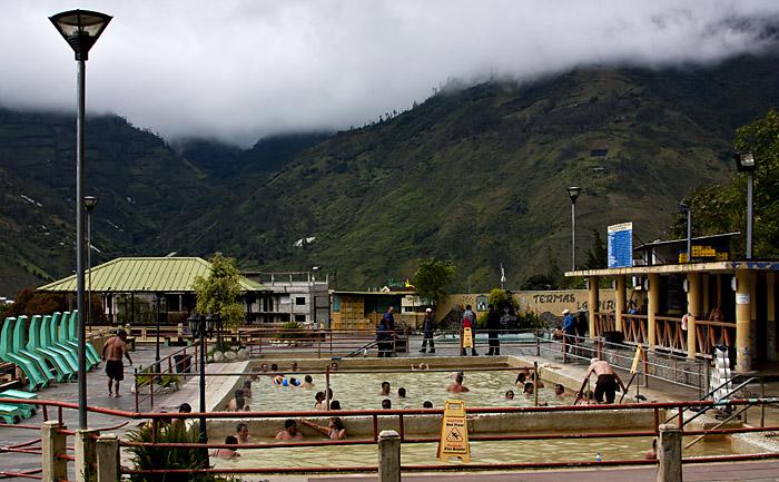 Terme, Banos, Ecuador