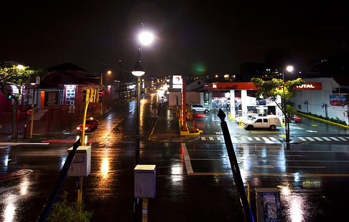 San Jose, notte