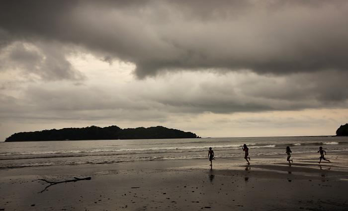 Spiaggia. Santa Catilina, Panama