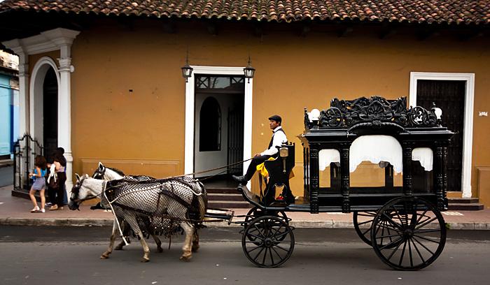 Carretto funebre, Granada, Nicaragua