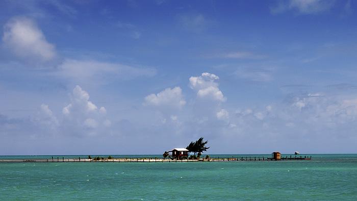 Casa nel mare, Belize