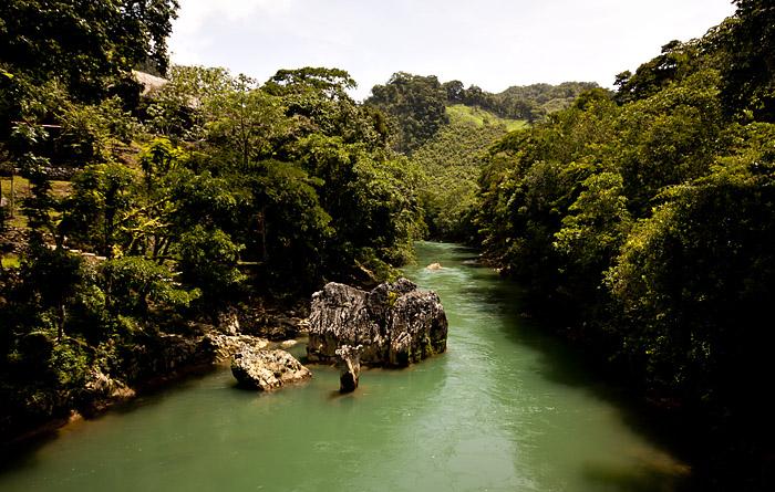 Fiume dukce, Guatemala