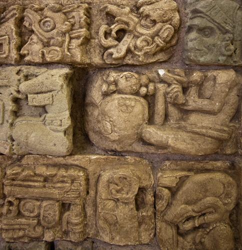 Geroglifici Maya, Honduras