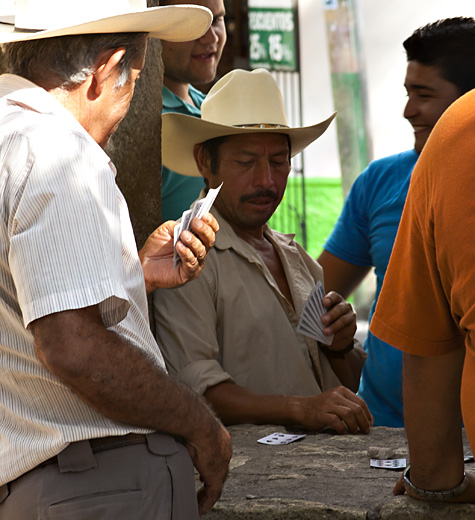 Giocatori di carte, Honduras