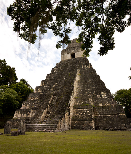 Tempio Tikal, Guatemala