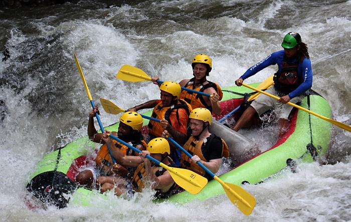 Rafting, Costa Rica