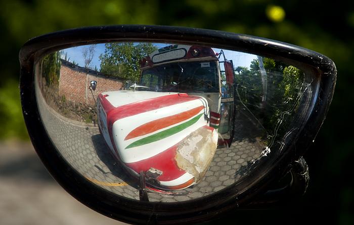 Specchietto bus, Nicaragua