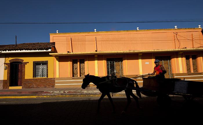 Strada a Leon, Nicaragua