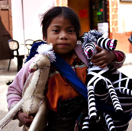 Bimba vende zebre, Messico