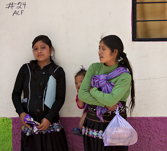 Donne, Chiapas, Messico