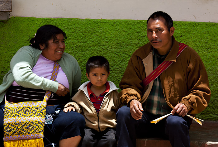 Famiglia, Tenehapa, Mexico